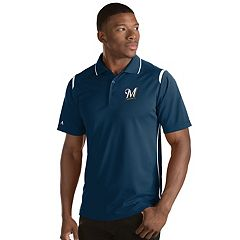 Men's Antigua Milwaukee Brewers Merit Polo