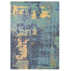Nourison Abstract Shag Sunrise Area Rug