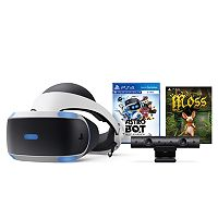 Deals on Sony PlayStation VR ASTRO BOT Rescue Mission & Moss Bundle