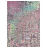 Nourison Abstract Shag Dip Dyed Area Rug