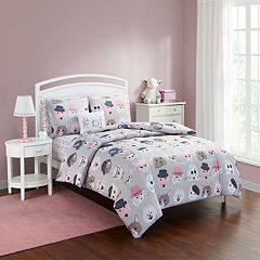 Furry Friends Comforter Set