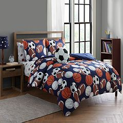 Lets Play Sports Comforter Set