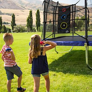 Skywalker Trampolines Game Kit with Upper Bounce Back & Triple Toss Games