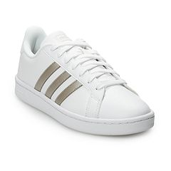 adidas Grand Court Women s Sneakers. White Black White Platinum White ... 2b7453f8e