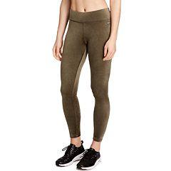 Women's Danskin Micro Velour Midrise Ankle Leggings