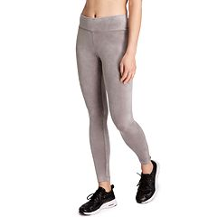 Women's Danskin Micro Velour Midrise Ankle Leggings