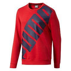 Men's PUMA Big Logo Fleece Top
