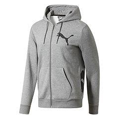 Men's PUMA Logo Full-Zip Hoodie