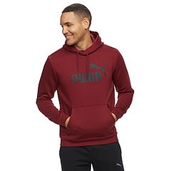 Men's PUMA Pull-Over Fleece Hoodie