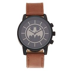 DC Comics Batman Kids' Logo Silhouette  Watch