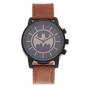 DC Comics Batman Kids' Logo Silhouette  Watch