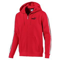 Men's PUMA Tape Full-Zip Hoodie