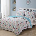 Priscilla Tiara & Crown Reversible Quilt Set