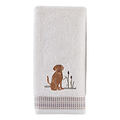 Saturday Knight, Ltd. Adirondack Dog 2-pack Hand Towel Set