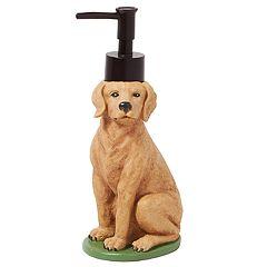 Saturday Knight, Ltd. Adirondack Dog Soap Pump