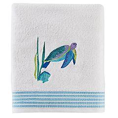 Saturday Knight, Ltd. Watercolor Ocean Bath Towel
