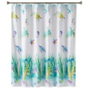 Saturday Knight, Ltd. Watercolor Ocean Shower Curtain