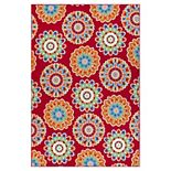 SONOMA Goods for Life® Floral Medallion Indoor/Outdoor Area and Throw Rug