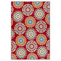 Deals on Sonoma Goods For Life Floral Medallion Area & Throw Rug 5x7-ft