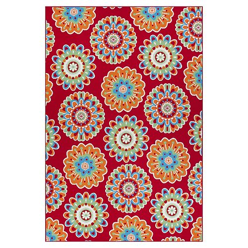 SONOMA Goods for Life® Floral Medallion Indoor/Outdoor Rug