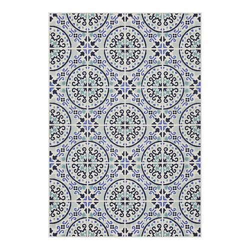 Sonoma Goods For Life Medallion Indoor Outdoor Rug