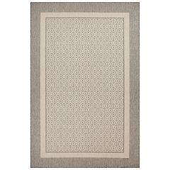 SONOMA Goods for Life™ Framed Border Indoor Outdoor Rug