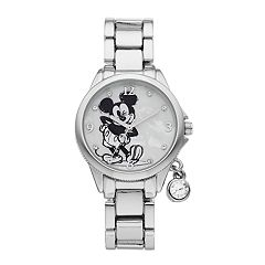 Disney's Mickey Mouse Kids' Crystal Accent Watch