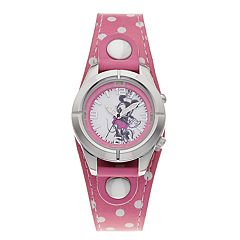 Disney's Minnie Mouse Kids' Light-Up Watch