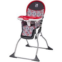 Disney's Mickey Mouse Line Up Simple Fold Plus High Chair