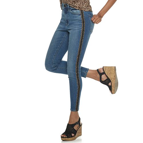 Juniors' Mudd® Vintage High Rise Jeans