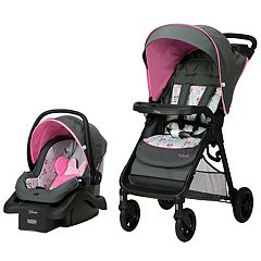 Disney's Minnie Mouse Happy Helpers Smooth Ride Travel System