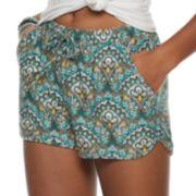 Juniors' Mudd® Peached Soft Shorts