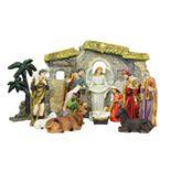 Northlight Seasonal 13-Piece Traditional Nativity Decoration
