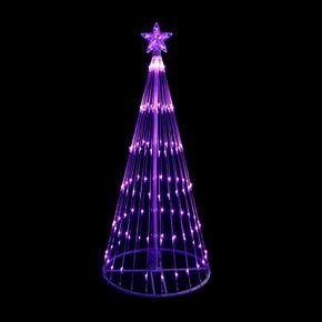Northlight Seasonal Purple Lighted Christmas Tree