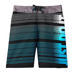 99ad3e2e251f6 Boys 8-20 Nike Swim Volley Shorts. Black Volt Glow