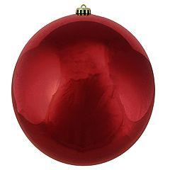 Northlight Seasonal 10-in. Red Shatterproof Ball Christmas Ornament