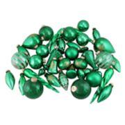 Northlight Seasonal Green & Gold Christmas Ornament 36-piece Set