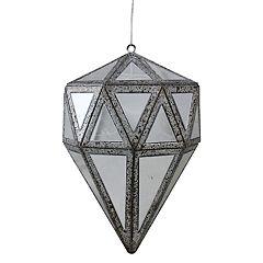 Northlight Seasonal 5.5-in. Mirrored Geometric Christmas Ornament