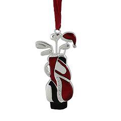 Northlight Seasonal Golf Bag Christmas Ornament