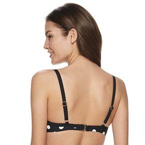 Women's Apt. 9® Tie Front Bikini Top