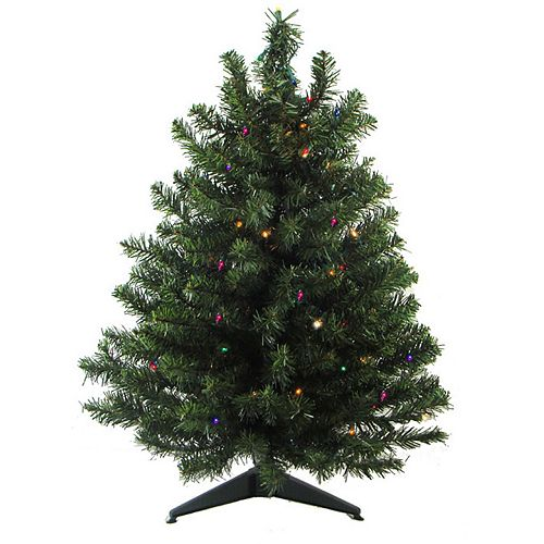 Pre Lit Christmas Tree Fuses: Northlight Seasonal 2-ft. Pre-Lit LED Two-Tone Canadian