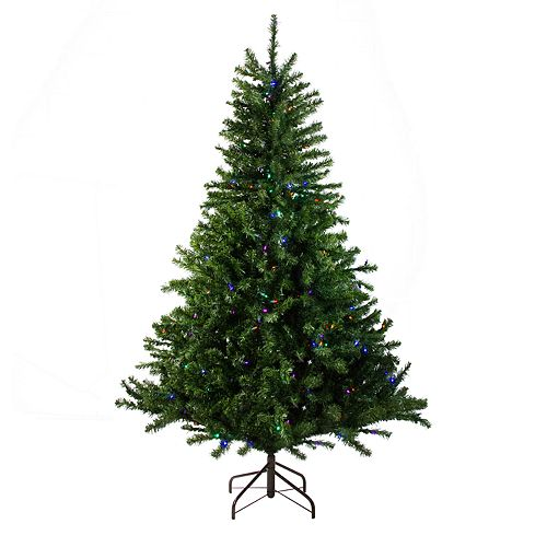 Pre Lit Christmas Tree Fuses: Northlight Seasonal 10-ft. Pre-Lit Multi-Colored LED