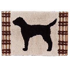 Saturday Knight, Ltd. Adirondack Dogs Bath Rug