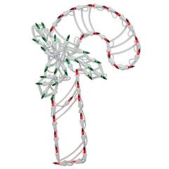 Northlight Seasonal LED Lighted Candy Cane Christmas Window Silhouette Decoration