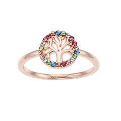 LC Lauren Conrad Rainbow Tree Ring