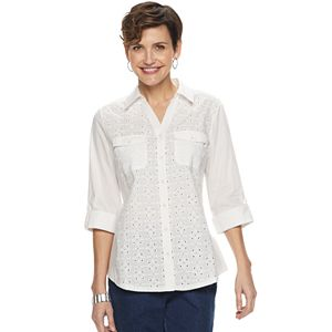 c62e2933 Women's Croft & Barrow® Classic Soft Shirt