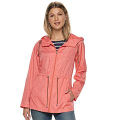 Women's d.e.t.a.i.l.s Parka In A Pocket Packable Anorak Jacket