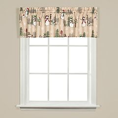 Saturday Knight, Ltd. Snowman Land Valance