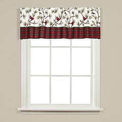 Saturday Knight, Ltd. Winter Birds Valance