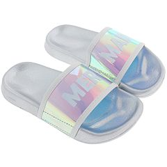 Girls 4-12 Elli by Capelli 'Mermaid' Slide Sandals